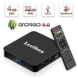 Android 9.0 TV Box, Android Box 4GB RAM 32GB ROM, Leelbox Q4 TV Box RK3328 Quad Core...