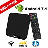 TV Box Android 7.1 - VIDEN W2 Smart TV Box Amlogic Quad Core, 2GB RAM & 16GB ROM,...