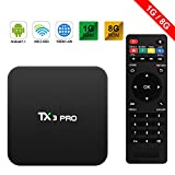 TX3 Pro Android 7.1 TV Box TV Caja Marshmallow S905W 1G/8G 4K H.265 64BIT DLNA...