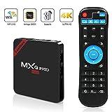 MXQ Pro Mini Android TV Box, Quad-Core Smart TV Box, 4K*2K UHD H.265, HDMI, USB*2,...
