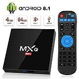 Android 8.1 TV Box, Superpow Smart TV Box Quad Core 4GB RAM+64GB ROM, BT 4.1, 4K*2K...