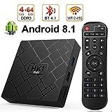 Android 8.1 TV Box, LIVEBOX Android Box 4GB RAM/64GB ROM RK3328 Quad-Core Media Box...