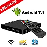 TV Box Android 7.1 - VIDEN W2 Smart TV Box Amlogic S905W Quad Core, 2GB RAM & 16GB...