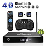 Android TV Box, GooBang Doo XB-III Smart TV Box Android 7.1 Quad Core 2GB RAM/16GB...