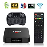 Android TV Box, T95 S1 TV Box 2GB RAM/16GB ROM Android 7.1 Amlogic S905W Quad Core...