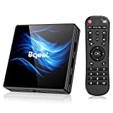 Última Versión Android TV Box 【4GB RAM+64GB ROM】 Bqeel Android 10.0 TV Box...