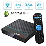 Android TV Box, T95 MAX+ Android 9.0 TV Box 4GB RAM/32GB ROM Amlogic S905X Quad-Core...