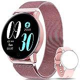 NAIXUES Smartwatch, Reloj Inteligente IP67 con Presión Arterial, 8 Modos de Deporte,...