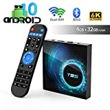 Android TV Box, TUREWELL T95 Android 10.0 Allwinner H616 Quadcore 4GB RAM 32GB ROM...