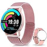 NAIXUES Smartwatch, Reloj Inteligente IP67 con Presión Arterial, 10 Modos de...
