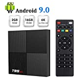 Android 9.0 TV Box Sidiwen T95 Mini Android Box 2GB RAM 16GB ROM H6 Quadcore...
