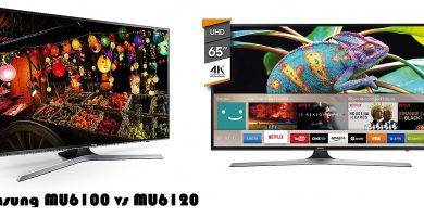 Samsung MU6100 vs MU6120
